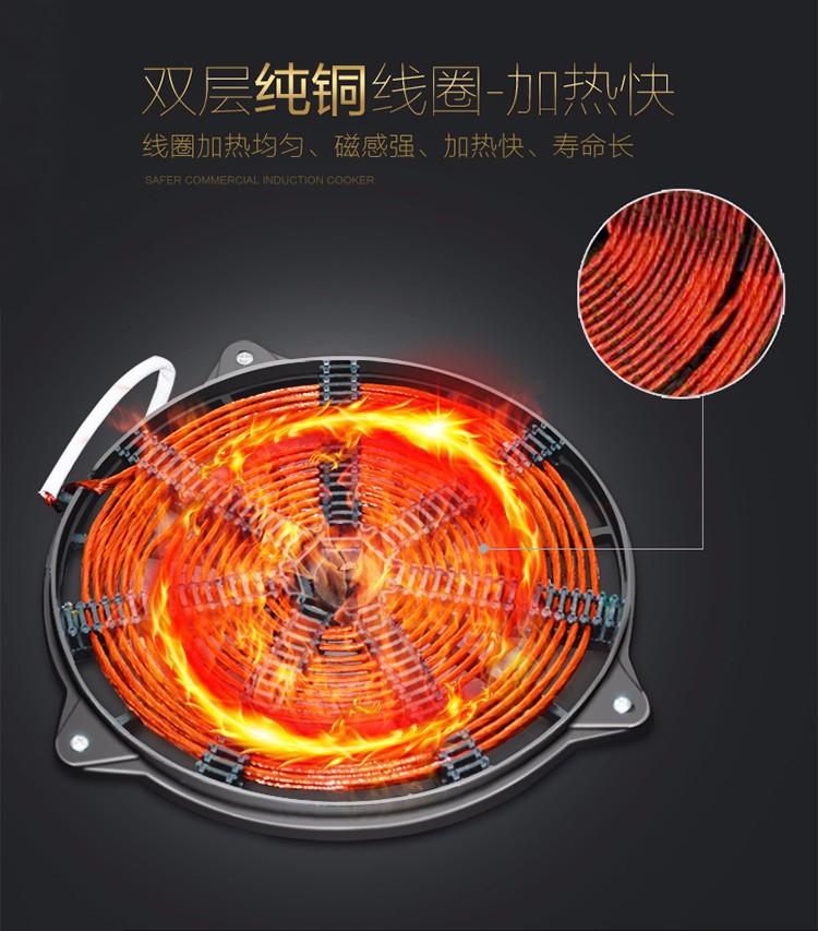 电磁煲汤炉线盘