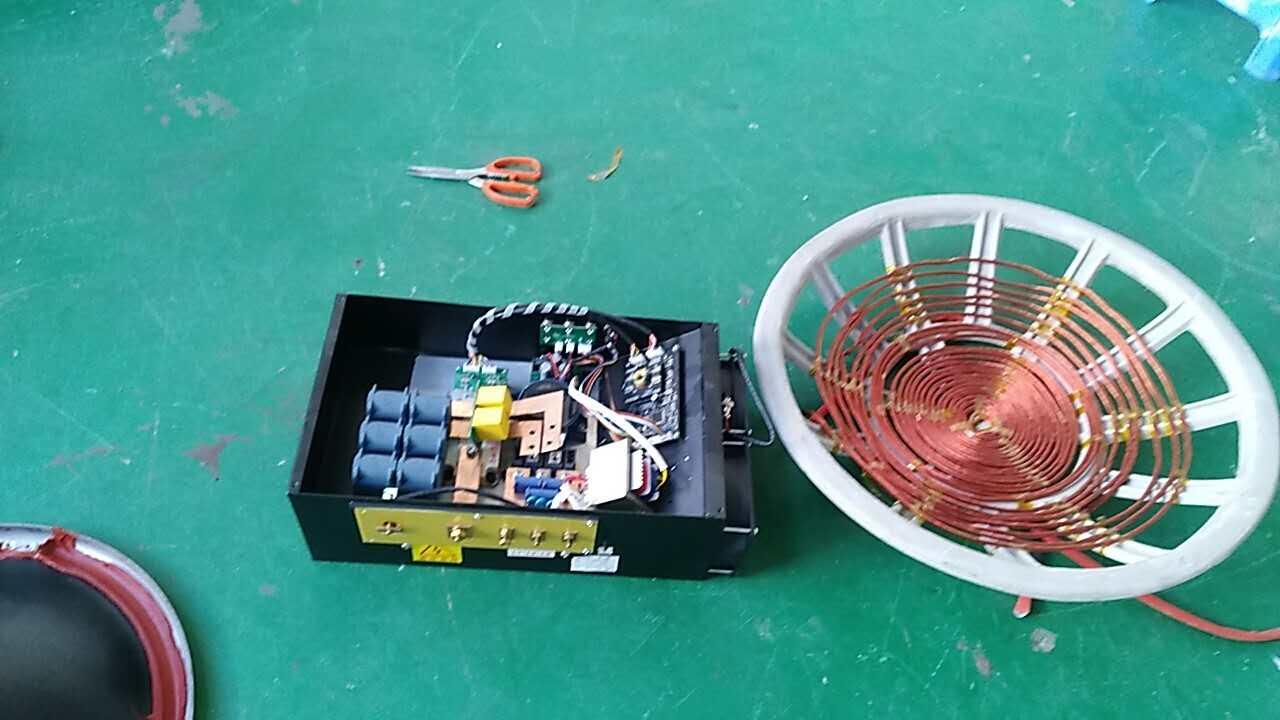 商用电磁炉加热组件
