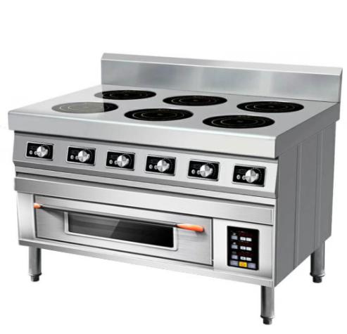 商用电磁炉煲仔+烤箱一体式