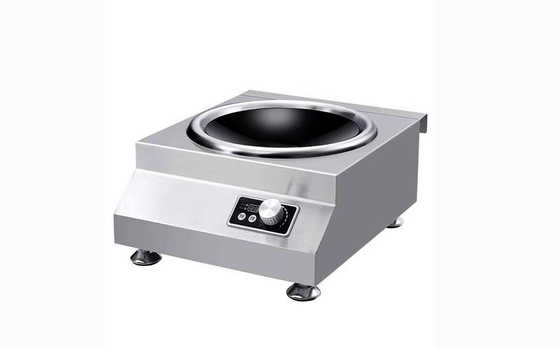 5kw电磁台式凹面炉